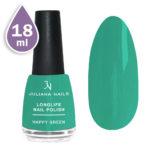 Дълготраен лак за нокти с гел ефект 18ml – happy green