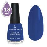 Дълготраен лак за нокти с гел ефект 18ml – make it blue