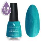 Дълготраен лак за нокти с гел ефект 18ml – green shine