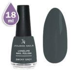 Дълготраен лак за нокти с гел ефект 18ml – smoky grey