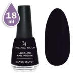 Дълготраен лак за нокти с гел ефект 18ml – black velvet