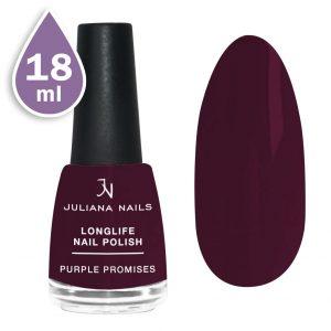 Дълготраен лак за нокти с гел ефект 18ml  – purple promises