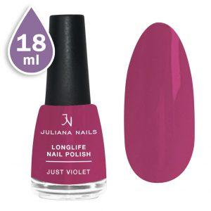 Дълготраен лак за нокти с гел ефект 18ml – just violet