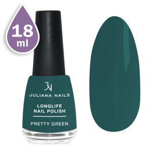 Дълготраен лак за нокти с гел ефект 18ml – pretty green