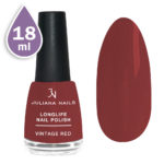 Дълготраен лак за нокти с гел ефект 18ml – vintage red