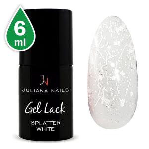 Гел лак Splatter White 6ml