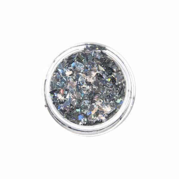 Juliana Nails Cracked Ice Silber-Multicolour