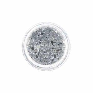 Нейл арт мотив – сребърна снежинка