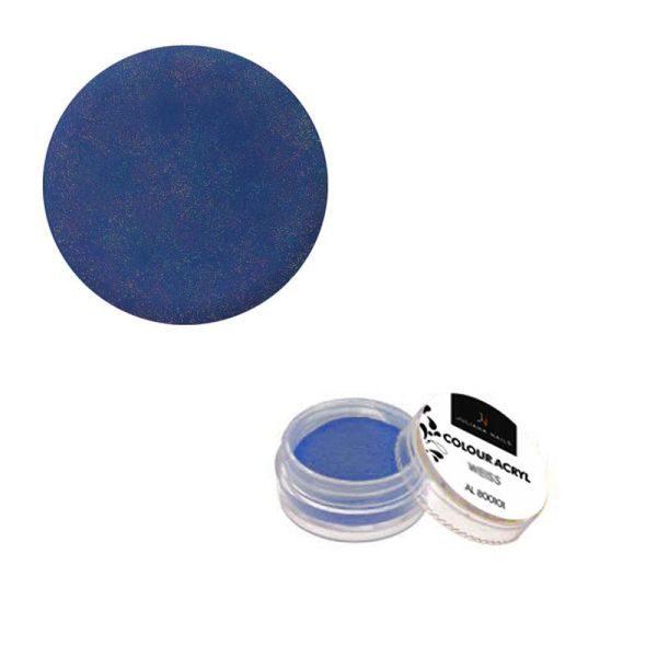 Juliana Nails Schimmer Colour Acryl Ozeanblau 2,5g