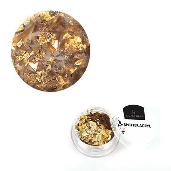 Juliana Nails Splitter Acryl Gold 2,5g