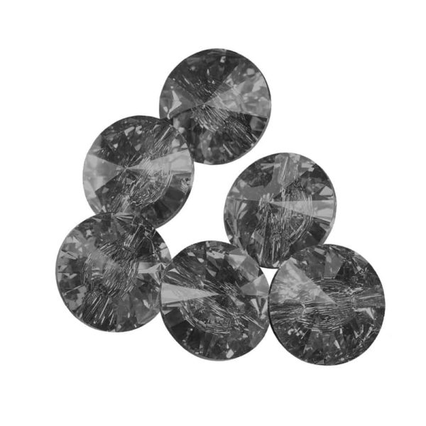 Juliana Nails Strass Stein Swarovski Black Diamond ca. 50 Stk. (SS12)