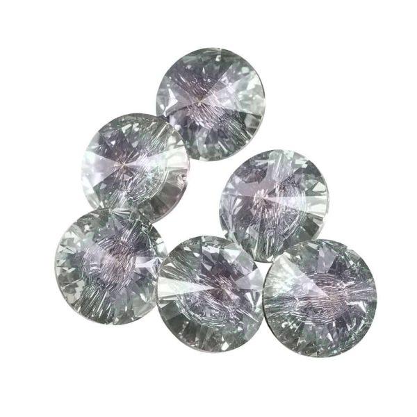 Juliana Nails Strass Stein Swarovski Effekt Crystal Aurore Boreale ca. 50 Stk. (SS12)