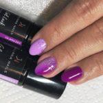 Гел лак Soft Violet 15ml