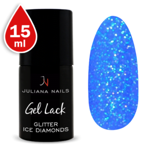Гел лак Glitter Ice Diamonds 15ml