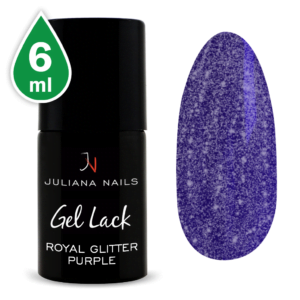 Гел лак Royal Glitter Purple 6ml