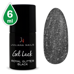 Гел лак Royal Glitter Black 6ml