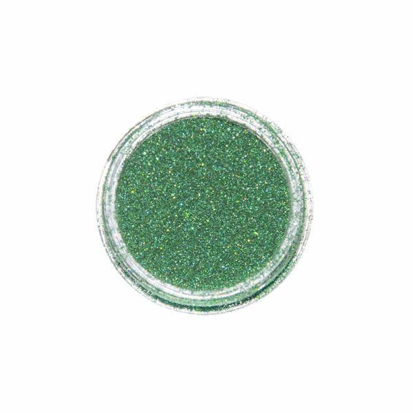 Nail Art Glitter Extra Fine Grün Hologramm