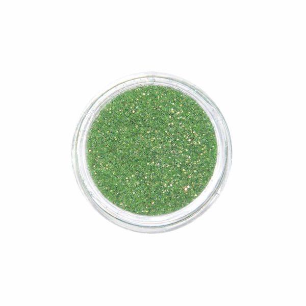 Nail Art Glitter Mega Shine Fine Grün-Irisierend