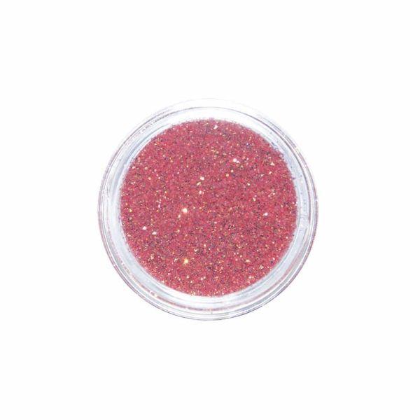 Nail Art Glitter Mega Shine Fine Rot-Gold-Irisierend